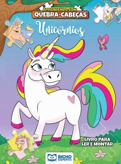 Imagem - Aprendendo com Quebra-Cabeça - Unicórnio cód: 9788533959514