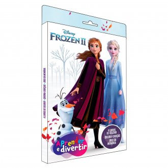 Imagem - Aprender e Divertir Disney - Frozen 2 - 9788533957589