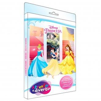 Imagem - Aprender e Divertir Disney - Princesas cód: 9788533957633