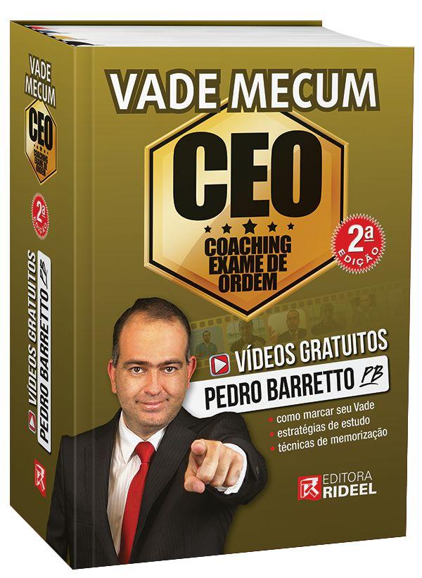 Imagem - Vade Mecum CEO - Coaching Exame de Ordem - 2ª edição cód: 9788533956070