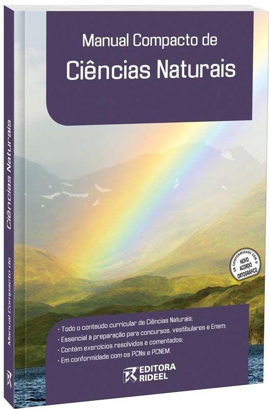 Imagem - Manual Compacto de Ciências Naturais - Ensino Fundamental cód: 9788533916593