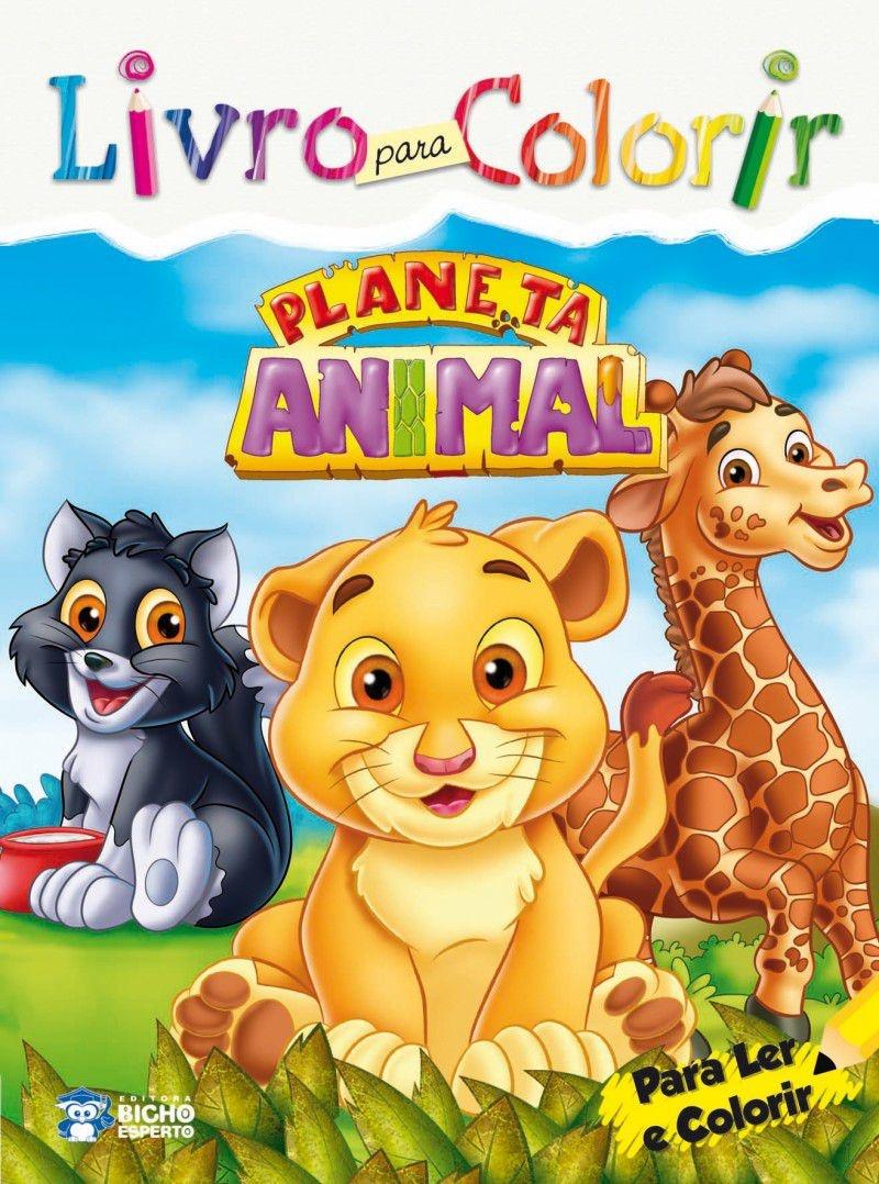 Imagem - Livro para Colorir: Planeta Animal - 9788533927995