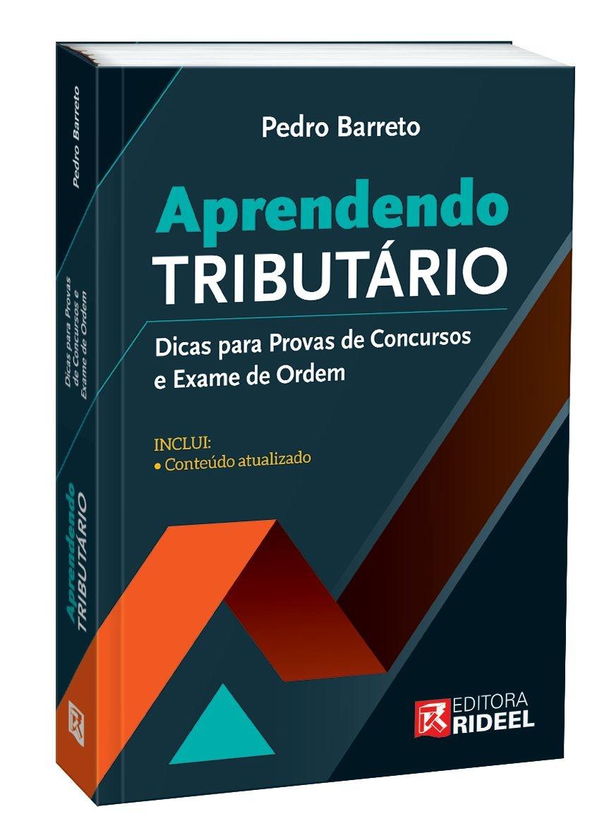 Imagem - Aprendendo Tributário - Dicas para Provas de Concursos e Exame de Ordem - 1ª edição cód: 9788533958746
