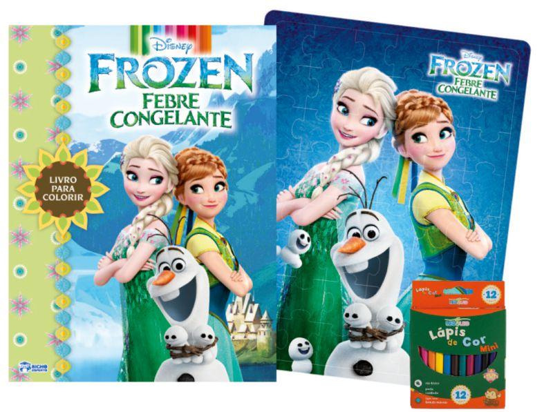 Imagem - Kit Diversão Disney - Frozen Febre Congelante - 9788533939073