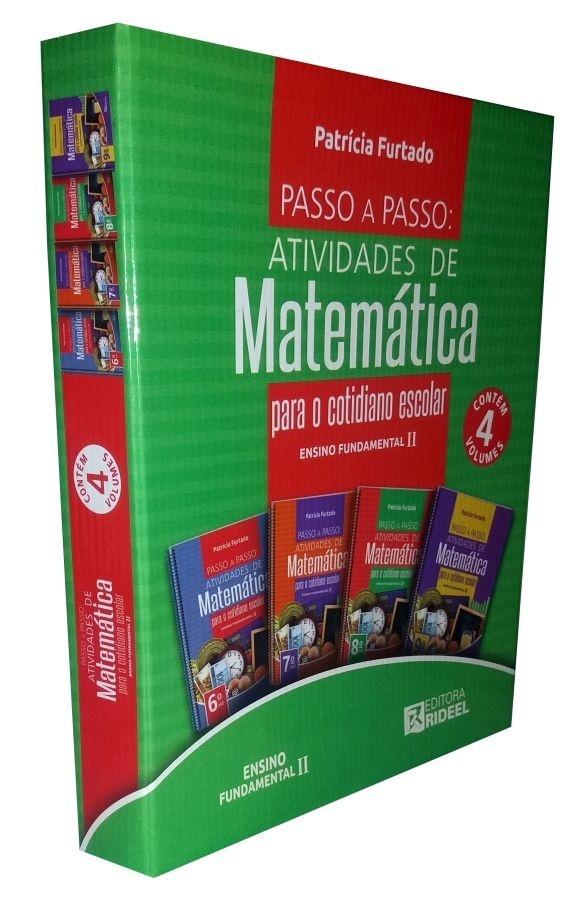 Imagem - Colecão Passo a Passo - Atividades de Matemática cód: 9788533939110