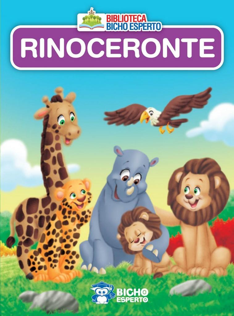 Imagem - Biblioteca Animais - Rinoceronte - 9788533943094