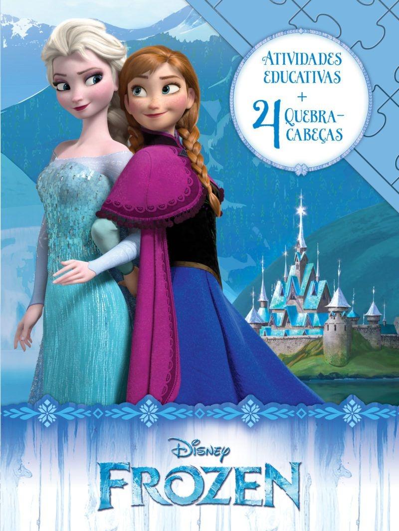 Imagem - Aprender Brincando Disney - Frozen cód: 9788533945142