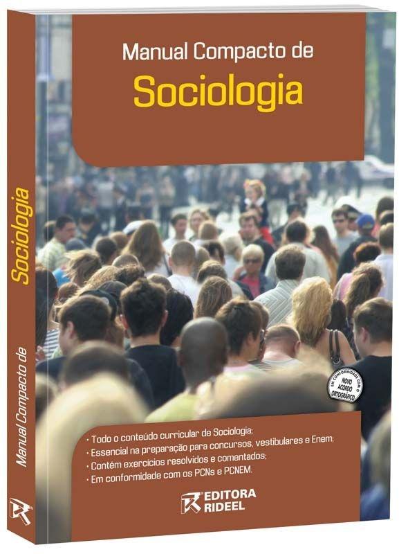 Imagem - Manual Compacto de Sociologia - Ensino Médio cód: 9788533919822