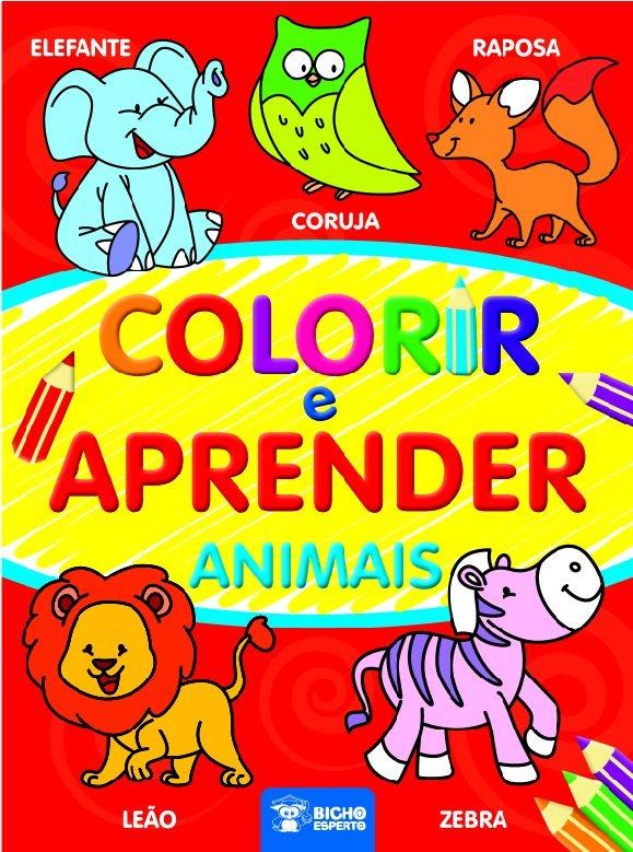 Imagem - Colorir e Aprender - Animais cód: 9788533932111