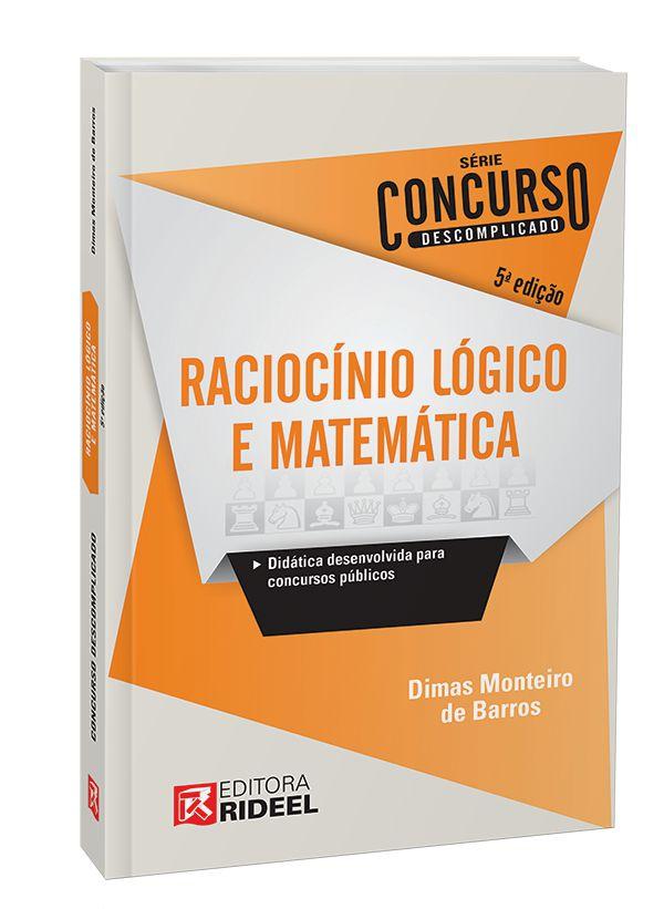 Imagem - Raciocínio Lógico e Matemática – Concurso Descomplicado cód: 9788533950726
