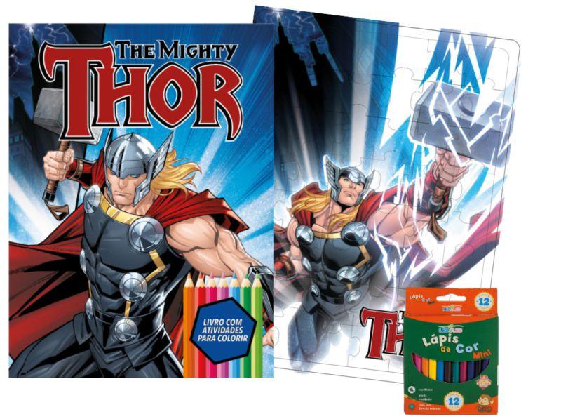 Imagem - Kit Diversão Marvel - Thor - 9788533951792