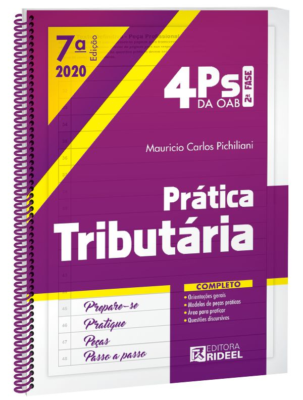 Imagem - 4Ps da OAB - Prática Tributária - 7ª edição cód: 9788533958852