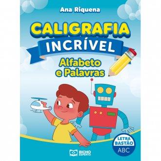 Imagem - Caligrafia Incrível Letra Bastão - Alfabeto e Palavras cód: 9786557381151