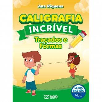 Imagem - Caligrafia Incrível Letra Bastão - Traçados e Formas cód: 9786557381175