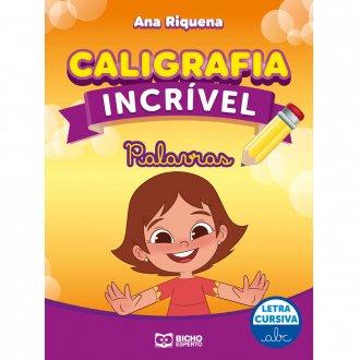 Imagem - Caligrafia Incrível Letra Cursiva - Palavras cód: 9786557381212