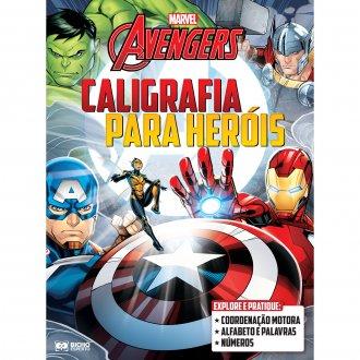 Imagem - Cartilha de Alfabetização Para Heróis Marvel cód: 9786557383612