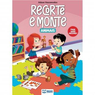 Imagem - Cartilha Recorte e Monte - Animais cód: 9786557381267