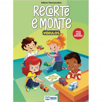 Imagem - Cartilha Recorte e Monte - Veículos cód: 9786557381274
