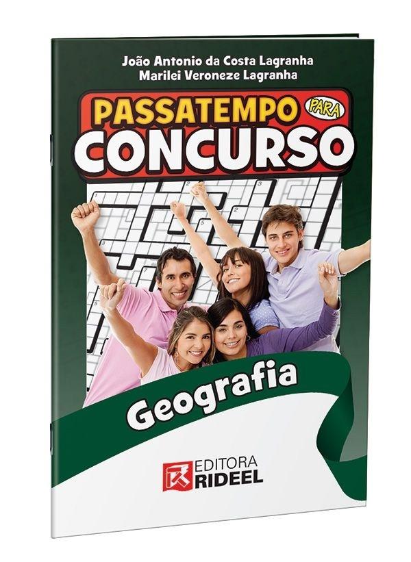 Imagem - Passatempo para Concurso - Geografia 1ª ediçao cód: 9788533941014