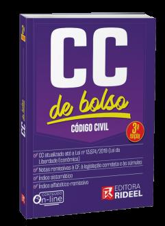 Imagem - Código Civil - CC de bolso - 3ª edição cód: 9788533958401