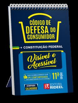 Imagem - Código de Defesa do Consumidor - Constituição Federal Visível e Acessível - 2020 cód: 9788533958647