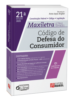Imagem - Código de Defesa do Consumidor - MAXILETRA - Constituição Federal + Código + Legislação - 9788533958500