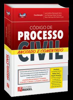 Imagem - Código de Processo Civil Anotado e Comentado - 1ª edição - 9788533958234