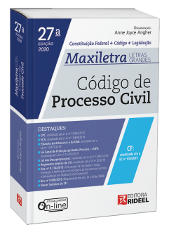 Imagem - Código de Processo Civil - MAXILETRA - Constituição Federal + Código + Legislação - 9788533958517