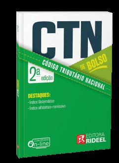 Imagem - Código Tributário Nacional - CTN de bolso - 2ª edição cód: 9786557382141