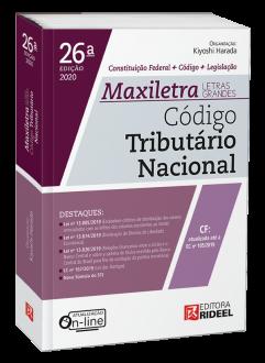 Imagem - Código Tributário Nacional - MAXILETRA - Constituição Federal + Código + Legislação - 9788533958579