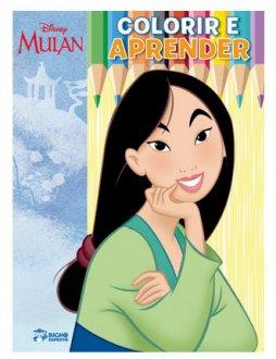 Imagem - Colorir e Aprender Disney - Mulan cód: 9788533957206