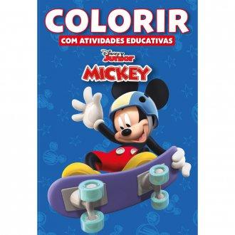 Imagem - Colorir Atividades Educativas Disney - A Casa do Mickey Mouse cód: 9788533936089