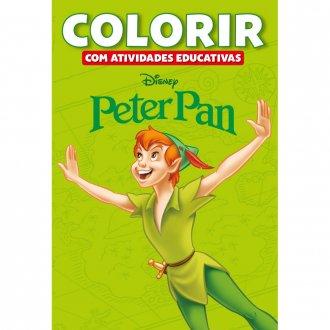 Imagem - Colorir Atividades Educativas Disney - Peter Pan cód: 9788533939004