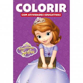 Imagem - Colorir Atividades Educativas Disney - Princesinha Sofia cód: 9788533936126