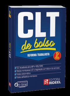 Imagem - Consolidação das Leis do Trabalho - CLT de bolso - 5ª edição cód: 9788533958456