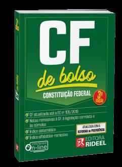 Imagem - Constituição Federal - CF de bolso - 2020 cód: 9788533958463