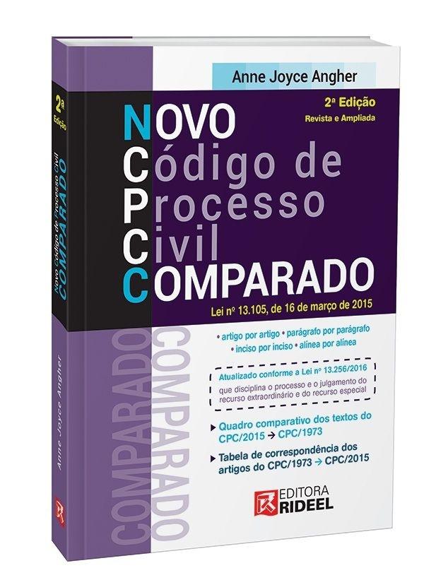 Imagem - Novo Código de Processo Civil Comparado - 2ª edição cód: 9788533940017