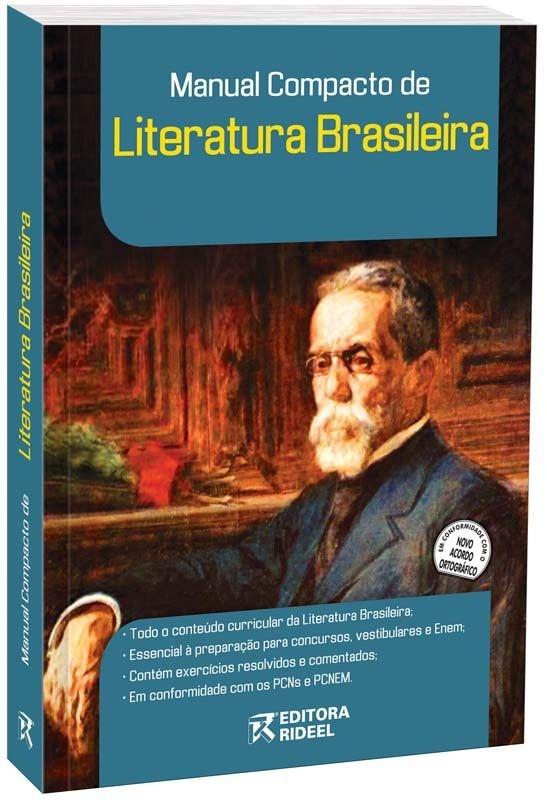 Imagem - Manual Compacto de Literatura Brasileira - Ensino Médio cód: 9788533916005