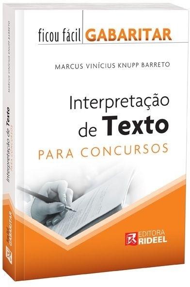 Imagem - Ficou Fácil Gabaritar - Interpretação de Textos  cód: 9788533926554