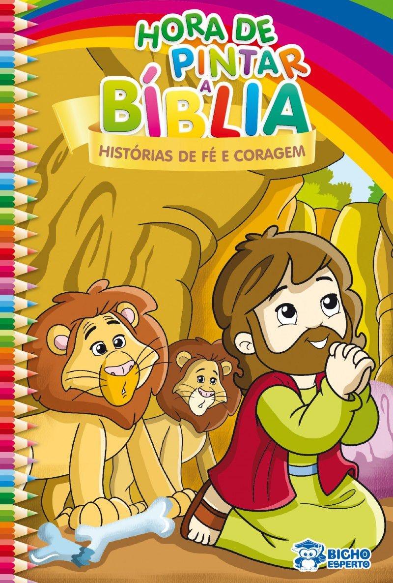 Imagem - Hora de Pintar Bíblia - Histórias de Fé e Coragem - 9788533937338