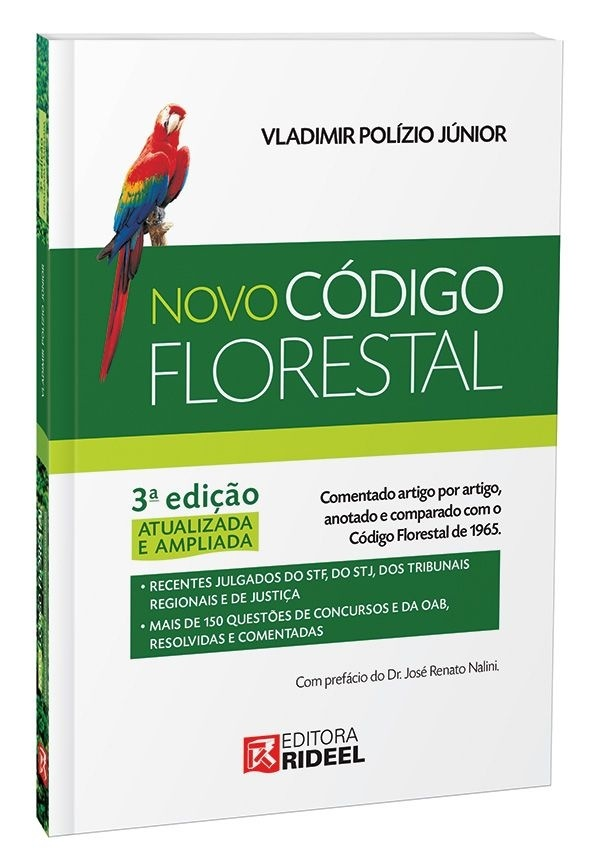 Imagem - Código Florestal Comentado  cód: 9788533937772
