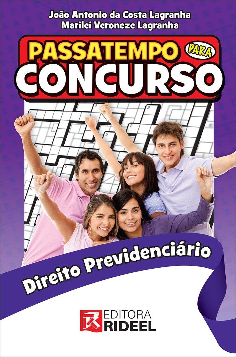 Imagem - Passatempo para Concurso - Direito Previdenciário cód: 9788533937956