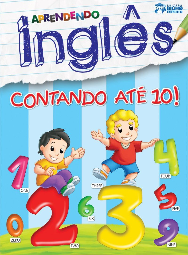 Imagem - Aprendendo Inglês - Contando até 10 - 9788533928831