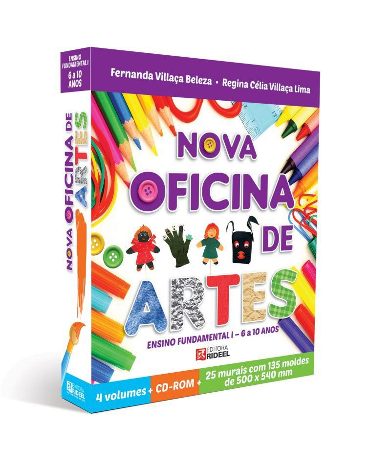 Imagem - Coleção Oficina de Artes  cód: 9788533942141