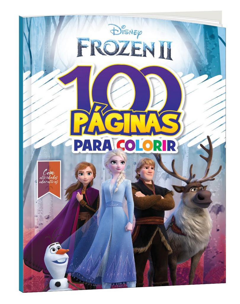 Imagem - 100 Páginas para Colorir Disney - Frozen 2 - 9788533955912