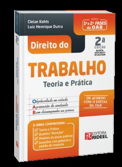 Imagem - Direito do Trabalho - Teoria e Prática - 2ª edição cód: 9788533958814