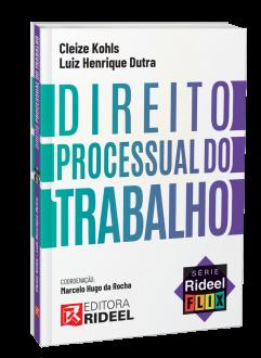 Imagem - Direito Processual do Trabalho - Série Rideel Flix - 1ª edição cód: 9786557381915