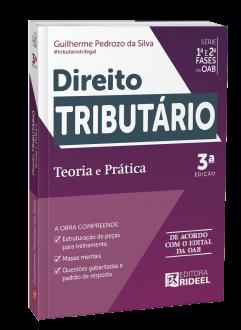 Imagem - Direito Tributário - Teoria e Prática 1ª e 2ª fases da OAB 3ª edição cód: 9788533958821