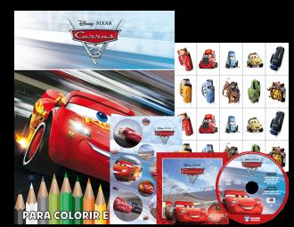 Imagem - Disney Kit 5 em 1 com DVD - Carros 3 cód: 9788533952119