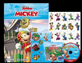 Imagem - Disney Kit 5 em 1 com DVD - Mickey Dia de Pescaria cód: 9788533952140